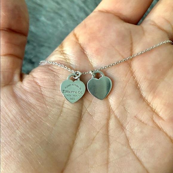 d8b445d12f Return to Tiffany Mini Double Heart Tag Pendant. M_5b3849064ab6336a9dcd2dd4
